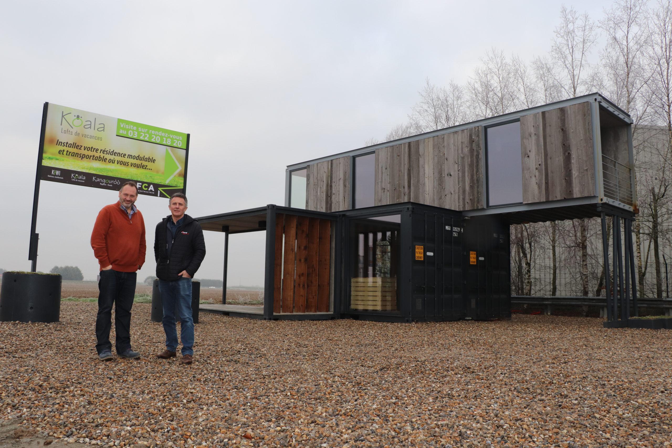 Constructeur Maison Container Nord des containers habitables - picardie la gazette